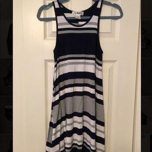 Say What? Dresses - Striped tank dress